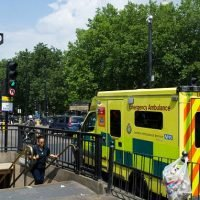 Woman dies after 'jumping on the tracks' at a London train station