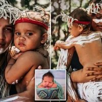 Photographer's images of Indigenous newborns and pregnant women