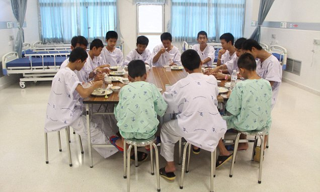 Trapped Thai cave boys will be released from hospital TODAY