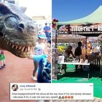 Furious parents lay in to 'absolute waste of time' Dinosaur Day