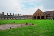 Tourists fined for stealing bricks from the crematorium at Auschwitz