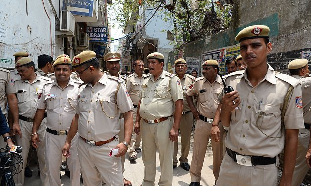 Girl, 8, is gang-raped by five boys as young as NINE in India