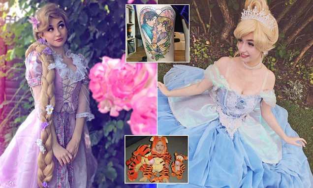 18-year-old reveals how she has spent £8,000 on her Disney obsession