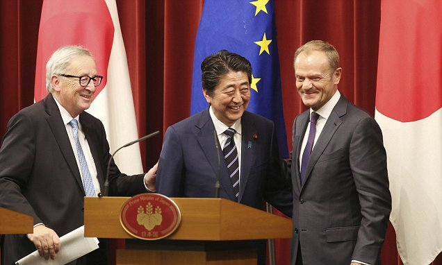 EU signs its biggest ever free trade deal with Japan