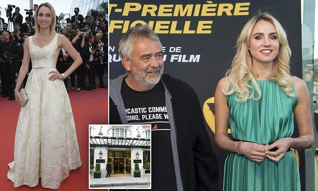 Actress accuses Luc Besson of raping her at a five-star hotel in Paris