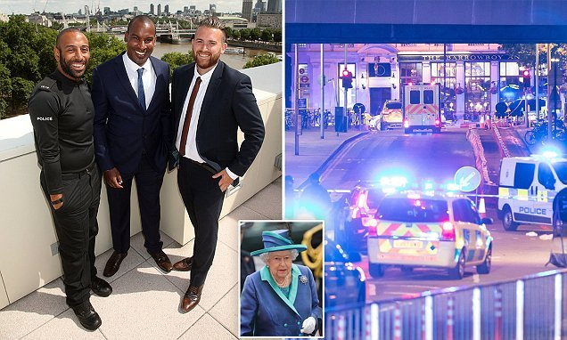 Queen will honour eight heroes from the London Bridge terror attack