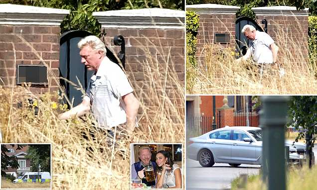 Former tennis star Boris Becker is unable to get into his £5m home