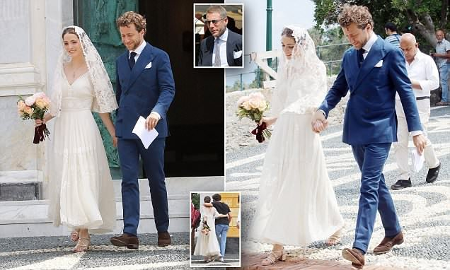 Anna Wintour's daughter Bee Shaffer has SECOND wedding in Italy