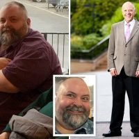 Obese man, 45, lost TWENTY STONE by walking 10 miles every day