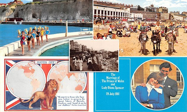 Fascinating images reveal how the humble postcard has evolved