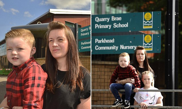 Mother's fury at having to get four children to three schools