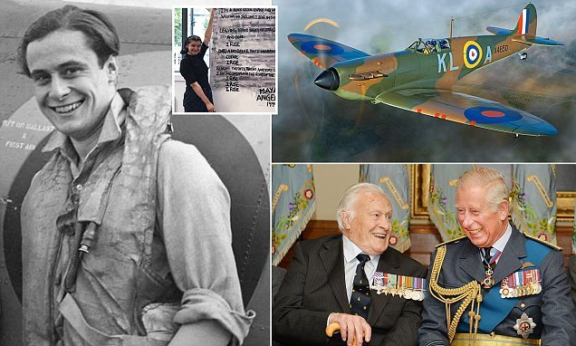 Memoir of the youngest Battle of Britain pilot reveals his courage