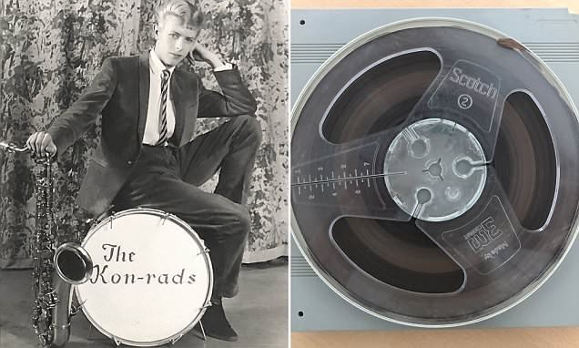 David Bowie's first known demo is to be sold at auction for £10,000