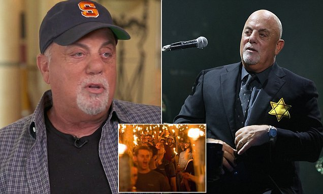 Billy Joel wore Star of David to protest President Trump Nazi support
