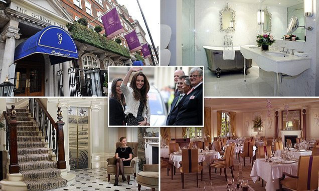Royal favourite The Goring Hotel is voted UK's Best City Hotel
