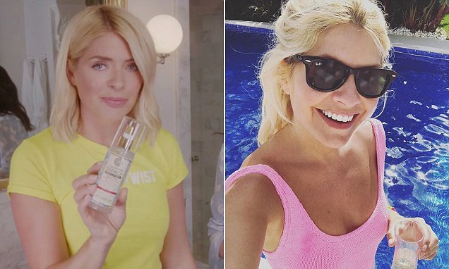 The products that help Holly Willoughby stay flawless in the heat