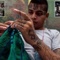 Rival members of deadly Barrio 18 and MS-13 gangs study together