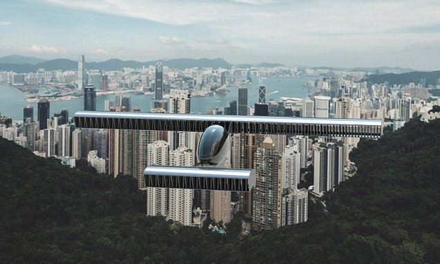 Incredible flying car concept soars silently through the air