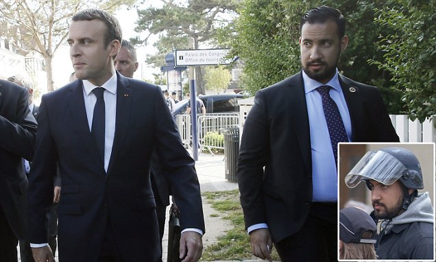Macron says his recently-sacked bodyguard is not his lover