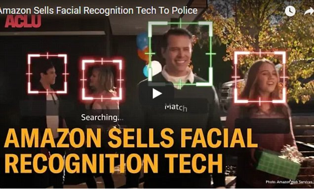 Amazon face ID tool misidentified members of Congress as suspects