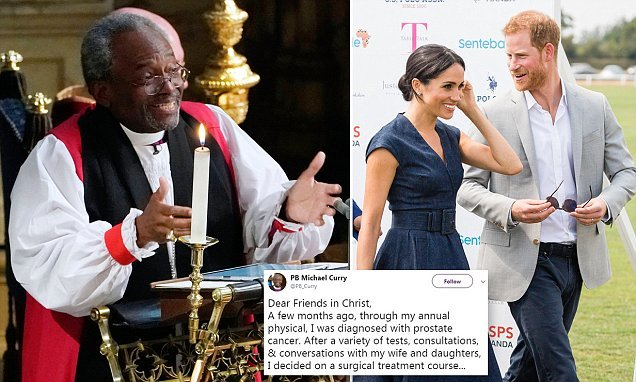 American bishop who spoke at the Royal wedding to have cancer surgery