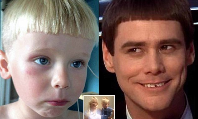 Hairdresser leaves child 'looking like a Dumb and Dumber character'