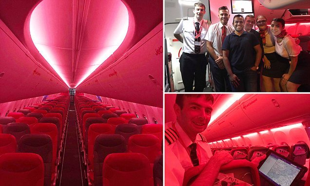 Luxury travel for £40! Passenger gets ENTIRE plane to himself