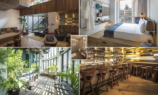 The new Manhattan hotel that will wow you with airy rooms and GREENERY