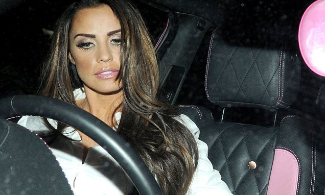 Katie Price reports HERSELF to police for driving illegally during ban