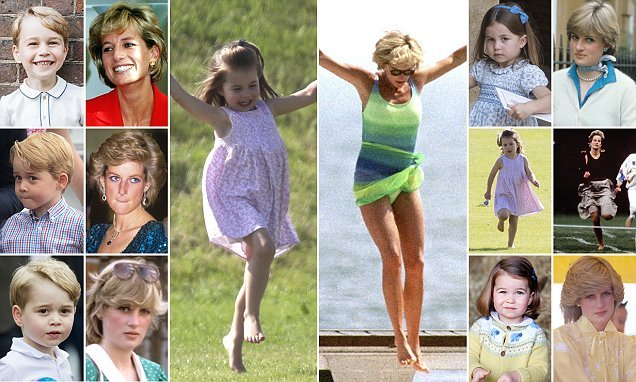 How Diana lives on in the grandchildren she'd have adored