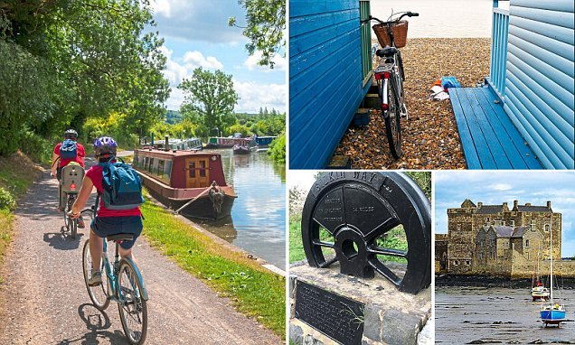 The Mail On Sunday's summer guide to cycling trails