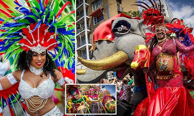 Rotterdam explodes with colour at carnival celebrating diversity
