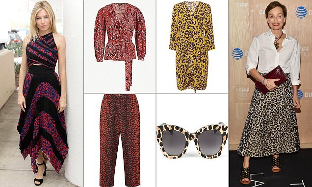 Change your spots: FEMAIL picks out the best animal print items