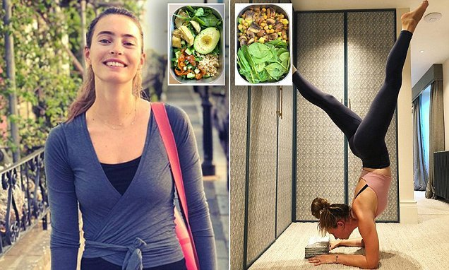 Deliciously Ella shares snaps of packed lunches to fuel yoga training