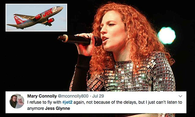 Airline continually plays Jess Glynne hits and passengers are furious