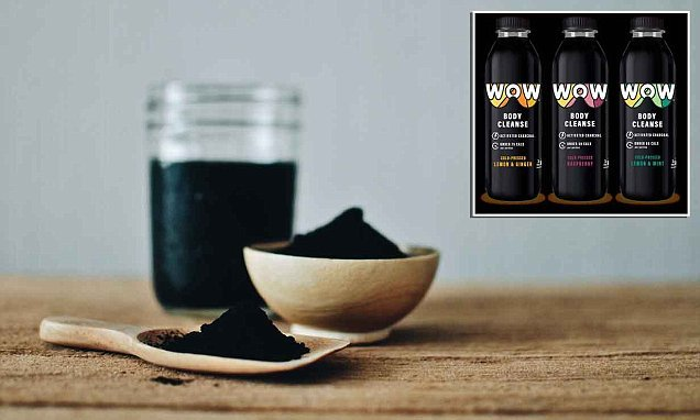 Could a jet black drink really be a cure for bloating?