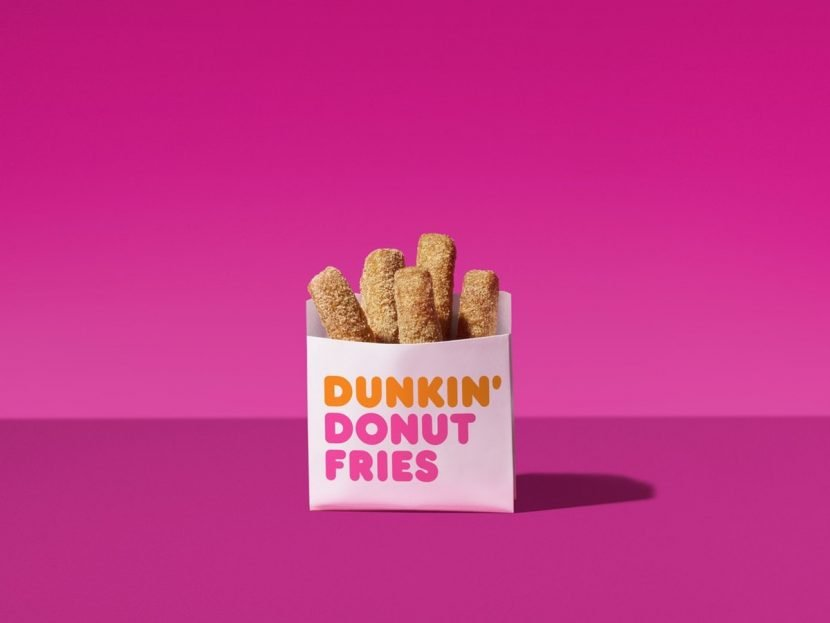 Here's How To Get Free Donut Fries At Dunkin' Donuts This Week