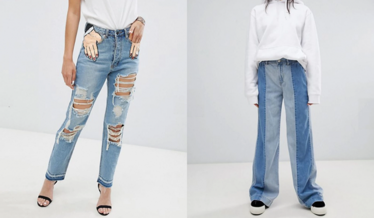 8 Of The Weirdest Jeans ASOS Has For Sale Right Now