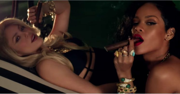 7 of Rihanna's Sexiest Video Collaborations That Prove Two Is Always Better Than One