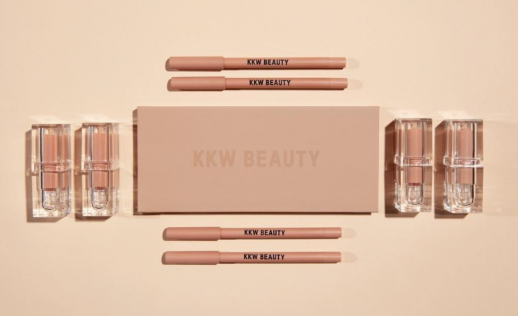 Kim K Is Coming Out With A Neutral Makeup Collection That Will Give You Her Signature Look