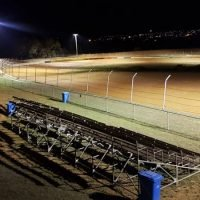 ACT Speedway lights up the night