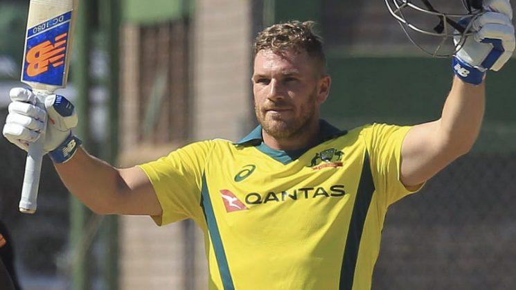 Finch blasts record T20 ton