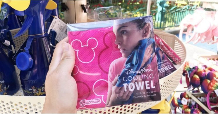 Visiting a Disney Park on a Hot Day? This Reusable Cooling Towel Will Be a Lifesaver