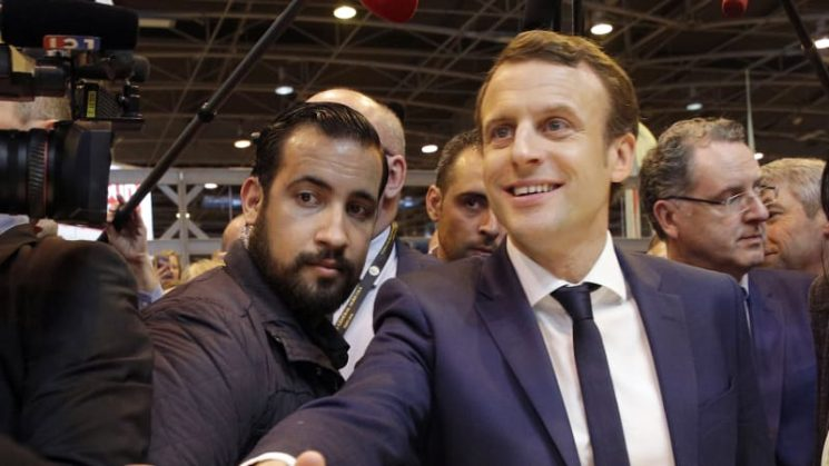 Macron urged to explain beatings. And gay rumours