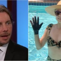 Watch Dax Shepard Hilariously Explain Why Kristen Bell Wears Gloves in the Pool