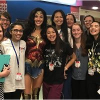 See the Sweet Photos of Gal Gadot Wearing Her Wonder Woman Costume to Visit a Children's Hospital