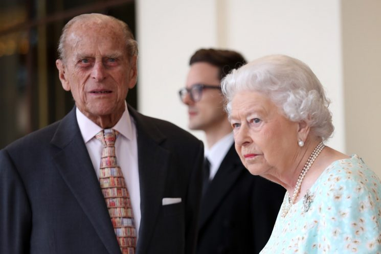 The Queen & Prince Philip Missed Louis' Christening For This Totally Understandable Reason