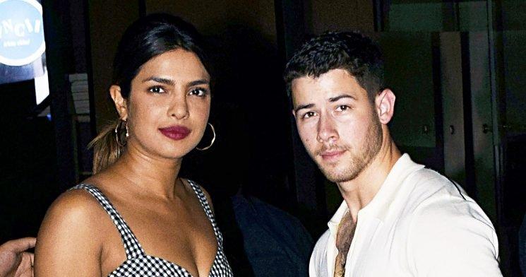 Priyanka Chopra and Nick Jonas Wear Matching Gold Bands: Pics
