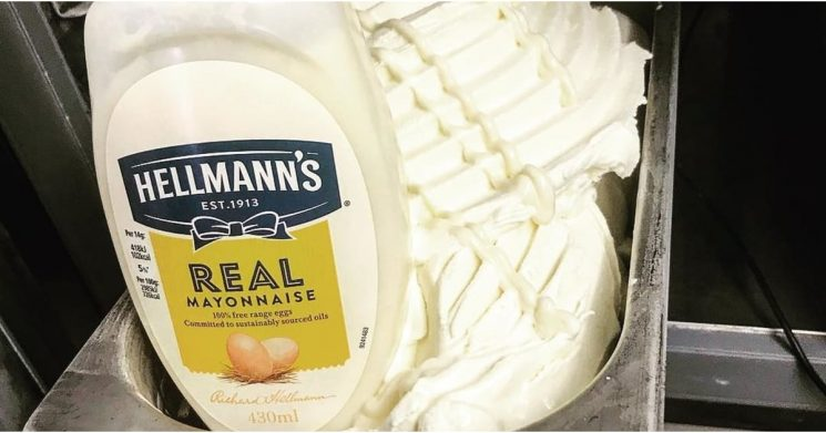 Someone Invented Mayonnaise Ice Cream, and, Uh, What's Wrong With Vanilla?