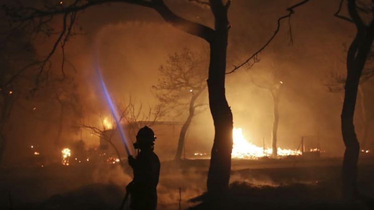 Europe burns as climate change fuels 'forest fire danger extremes'